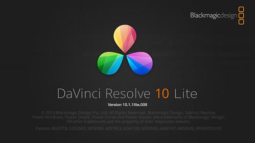 davinci resolve 10.1.1