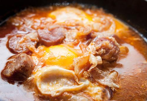 l'uovo a susciello