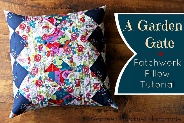 A Garden Gate Pillow Tutorial : :