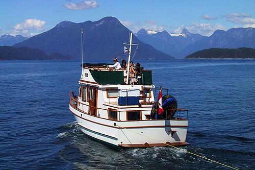 Desolation Sound, Sunshine Coast, British Columbia, Canada