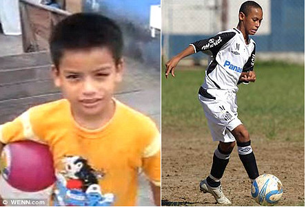 neymar as a kid boy