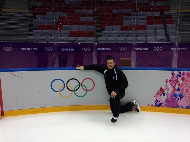 Ian Walsh at 2014 Winter Olympics in Sochi