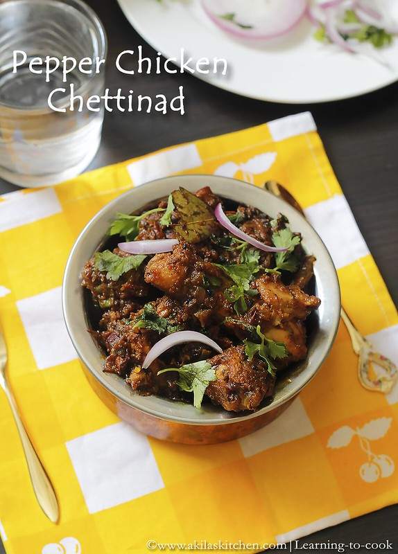 Chettinad pepper Chicken