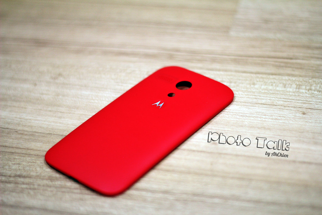 MotoG Free Red Motorola Shell