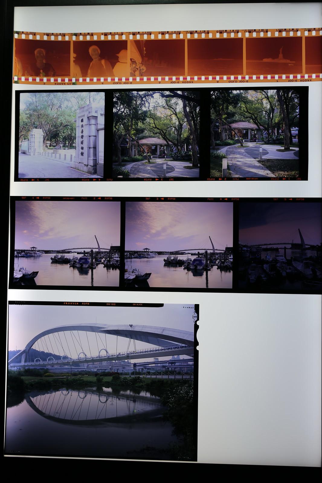 分享Linhof Technika 4x5 和 Pentax 645D 的比較照片