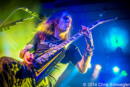 Children Of Bodom – 03-24-14 – Halo of Blood Over North America, Saint Andrews Hall, Detroit, MI