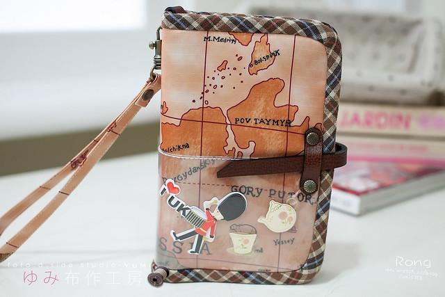 5世界地圖風護照套1