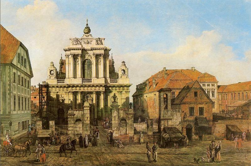 十八世纪华沙风景画13