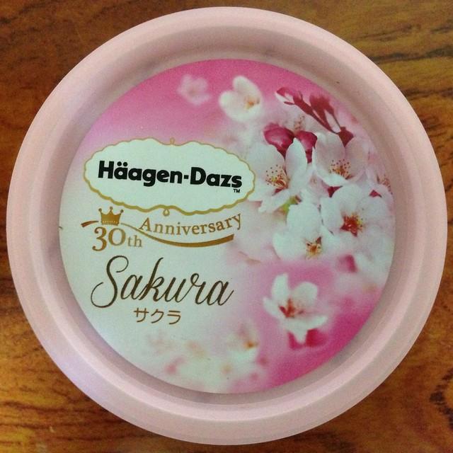 Photo:Häagen-Dazs, 30th アニバーサリー サクラ, 熱海, 日本, Dessert, Sweet, Atami, Japan By bryan...