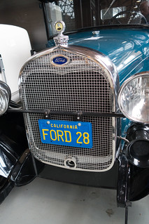 1928 Ford grill