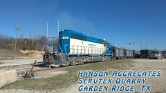 Lehigh Hanson Switcher at Garden Ridge, TX