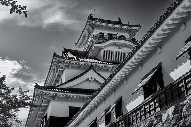 Nagahama Castle keep