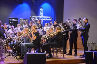 Massed band - Tromboner och Euf