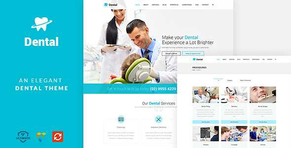 Dental Health WordPress Theme free download