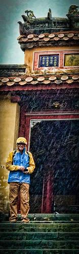 holidays hue mangojouneys nevillewootton rain temples topazlabs tourists vietnam