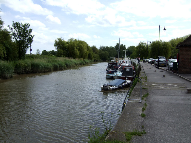 The River Stour at Sandwich