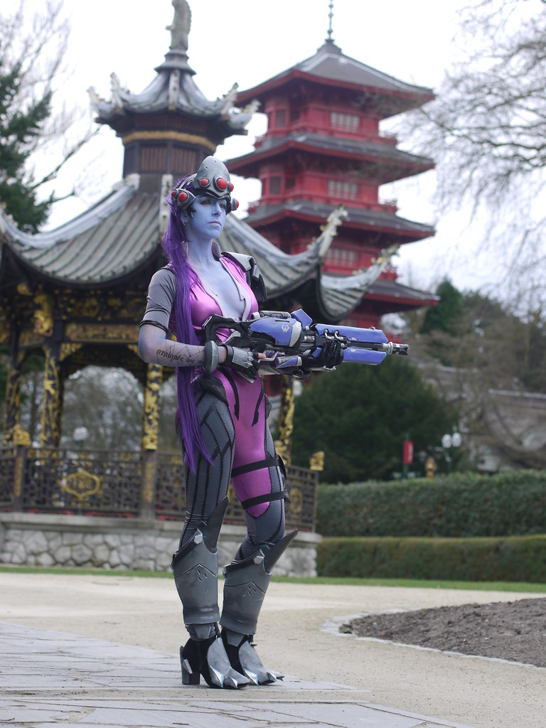related image - Shooting Fatale - Overwatch - Enaelle's Arts - Bruxelles -2017-03-03- P2010067