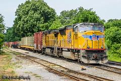 UP 3955 | EMD SD70M | CSX Memphis Terminal Subdivision