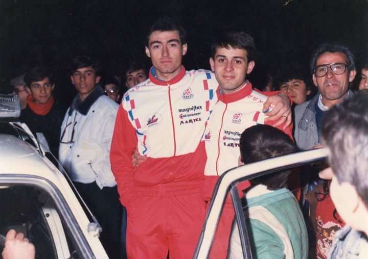 Giovanni Scatà con Massimiliano Lelli