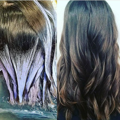 #beforeandafter #hairpainting by Whitney @whitev1 Don't forget to book your appointment! 901.590.4380 #IAMGOLDWELL #silklift #ash #ryanpatricksalon #haircolor #hairstyle #choose901 #memphis #memphisstyle #memphishairsalon #memphishairstylist #igdaily #ins