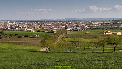 Spain - Cordoba - Hinojosa del Duque from ermita del Cristo de las Injurias