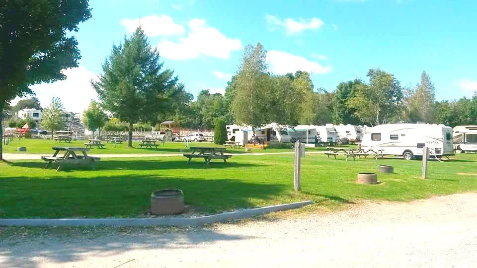 Camping Plage de la baie (#13-#15-#17...)