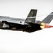 An F-35A of the 31st Test and Evaluation Squadron, a tenant unit at Edwards Air Force Base, Calif., takes off on a test flight at Mountain Home AFB, Idaho, Feb 18, 2016. Six operational test and evaluation F-35s and more than 85 Airmen of the 31st TES travelled to Mountain Home AFB to conduct the first simulated deployment test of the F-35A, specifically to execute three key initial operational capability mission sets: suppression of enemy air defenses, close air support and air interdiction. (U.S. Air Force photo by J.M. Eddins Jr.)