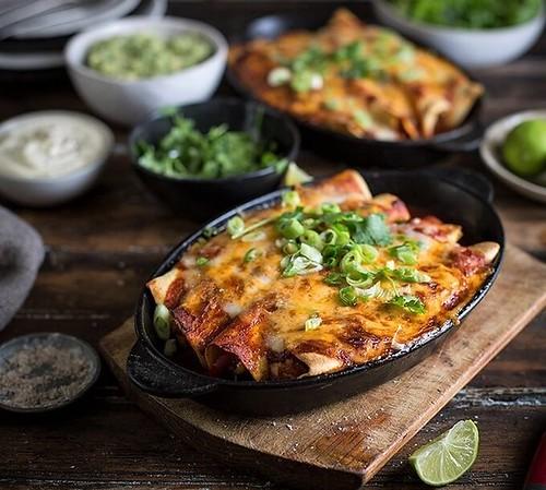 chipotle-chicken-enchiladas