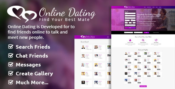 Online Dating Script v2.1