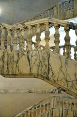railing, staircase