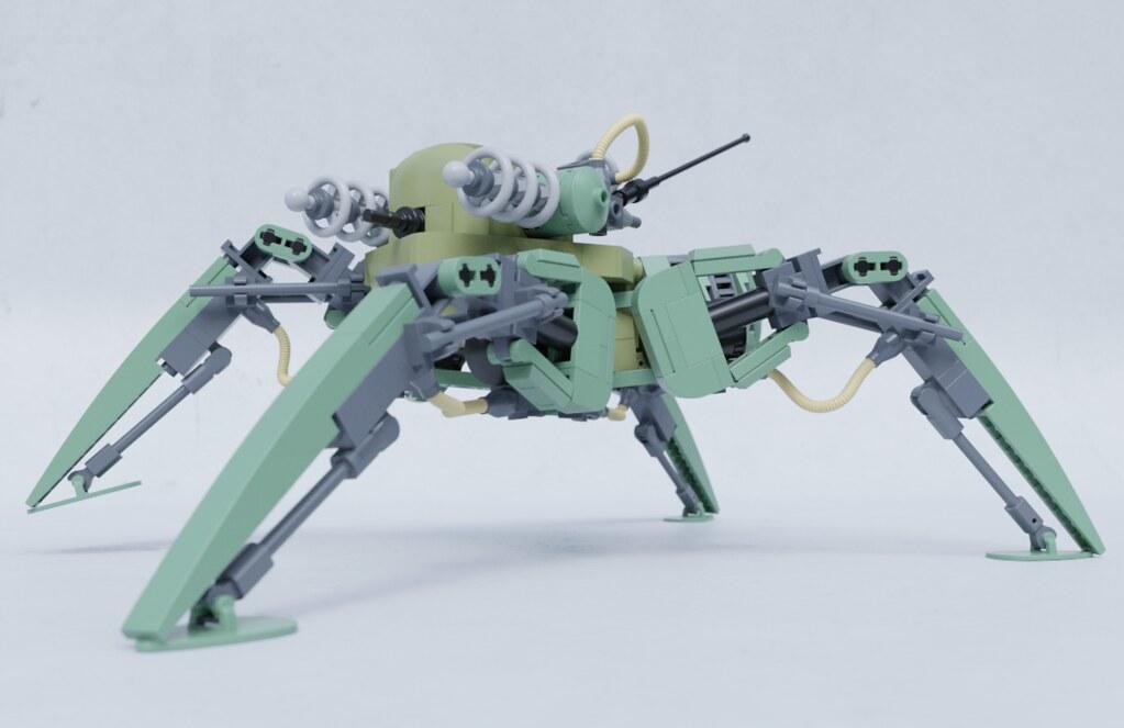 Tesla-mech (custom built Lego model)