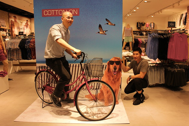 Kevin and Cedric at Cotton On