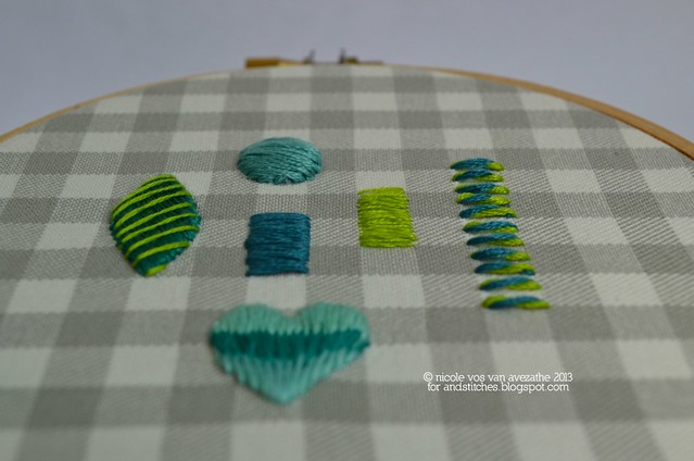 Satin Stitch variations