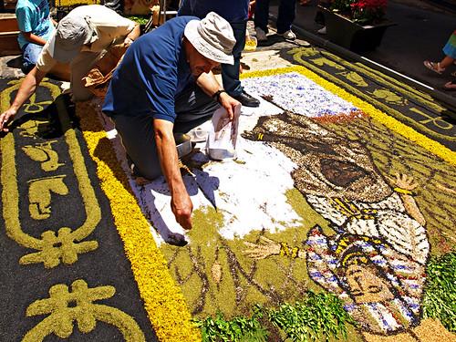 Corpus Christi, Flower Carpets, La Orotava, Tenerife