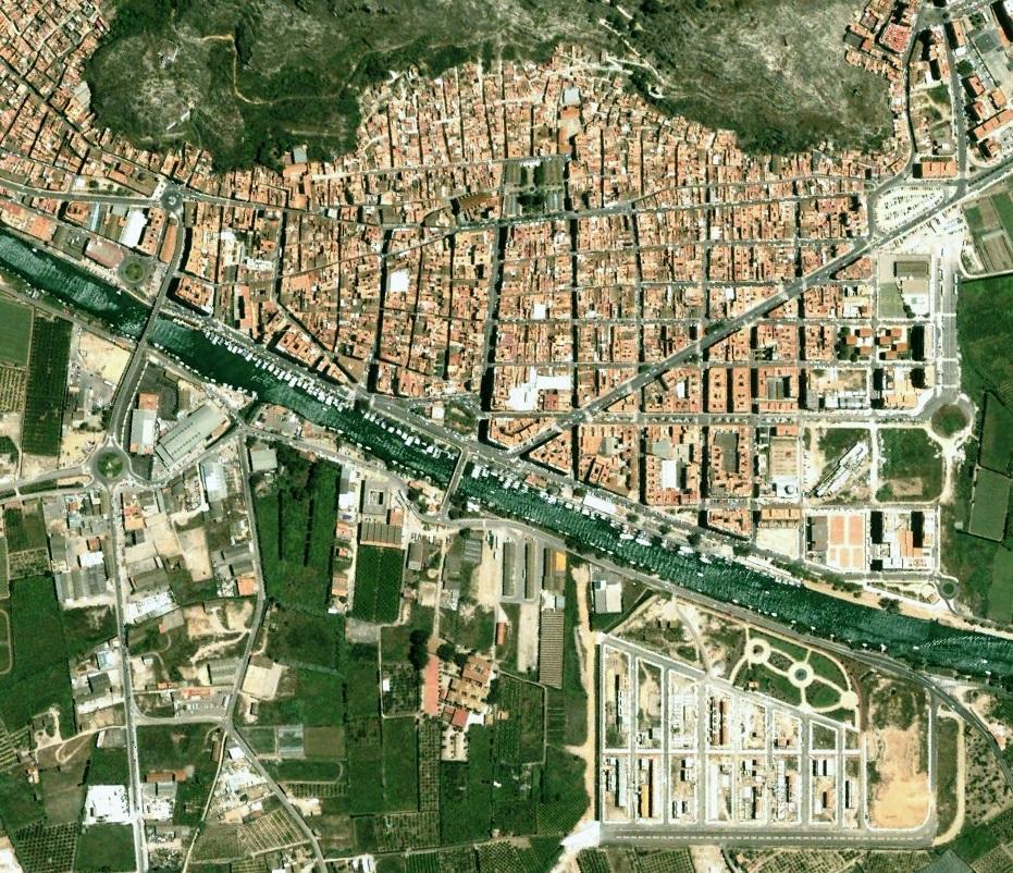 cullera, costa, litoral, valencia, antes, desastre, urbanístico, planeamiento, urbano, construcción, urbanismo