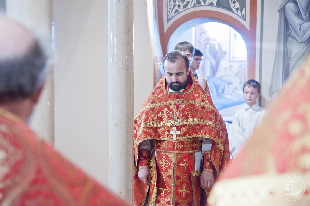 1 июня 2013, Великое освящение нижнего храма Феодоровского собора
