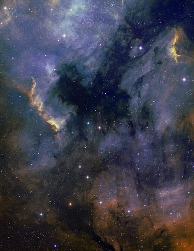 NGC7000 & Pelican nebula mosaic by Mick Hyde