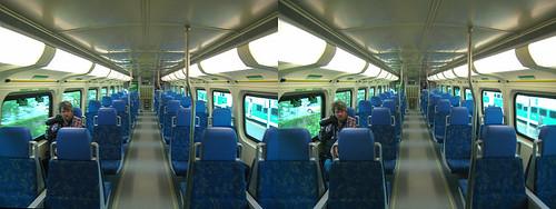 Toronto - GO Train 3D Stereogram