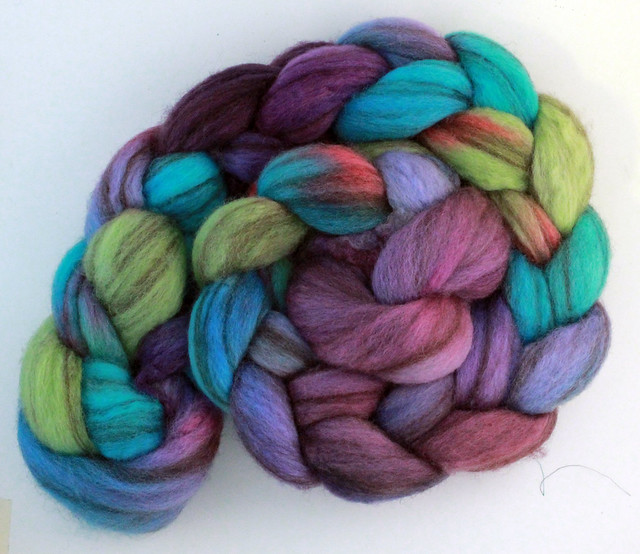 hand dyed mixed bfl