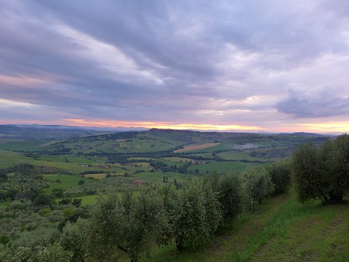 Dawn over Tuscany