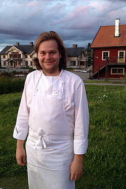 Chef Magnus at Fäviken