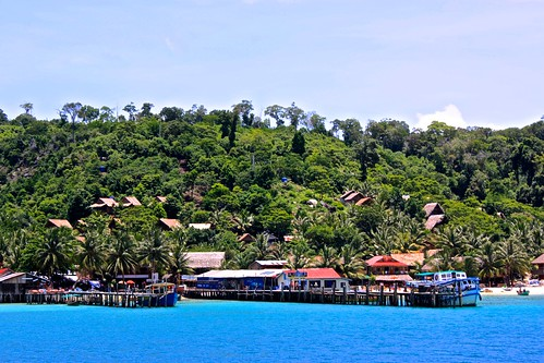 entering Koh Rong