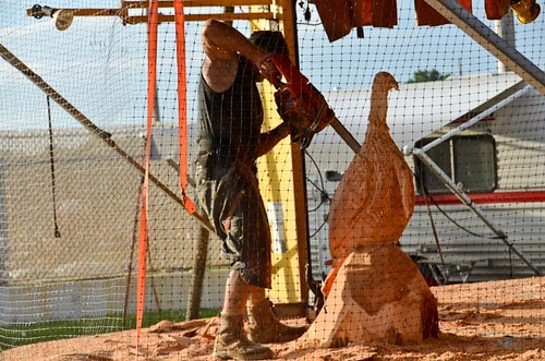 Chainsaw Carving, Turkey