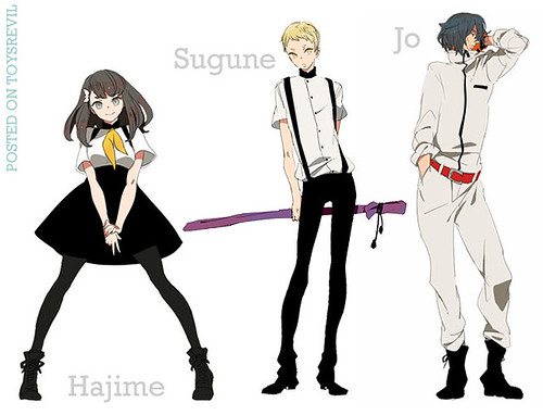 GATCHAMAN-CROWDS-CHARACTERS-1