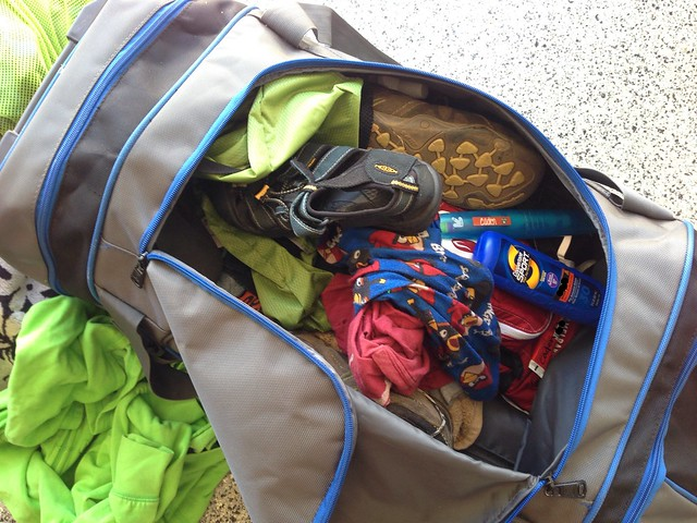 Duffle Bag Post-Camp