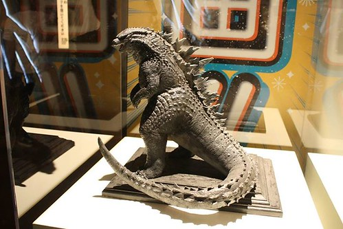 Godzilla is taking on SDCC and he looks fantastic! Via Skreeonk! (link: http://ow.ly/n3KIj)