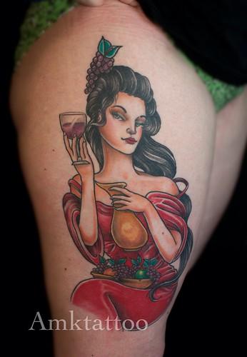Amktattoo Melbourne tattoo magic by Adriantattoo