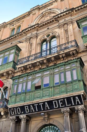 Edificio Gio. Batta delia en calle república