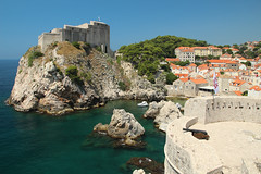 Dubrovnik from the city wall