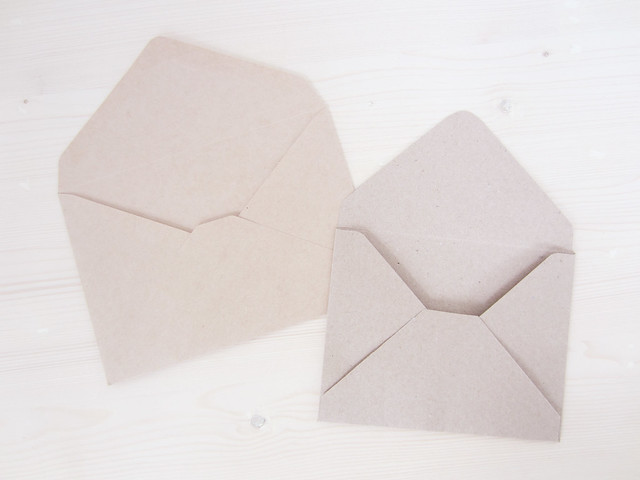 Washi-lined Envelopes